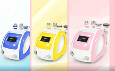 MYCHWAY Colorful Ultrasonic Cavitation Slimming Machine for Cellulite Treatment Home Use